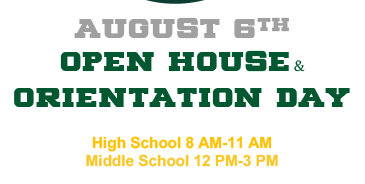 Open House & Orientation Day