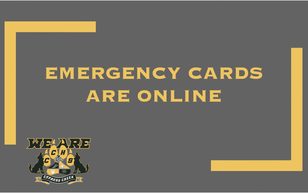 Emergency Contact Cards are Online