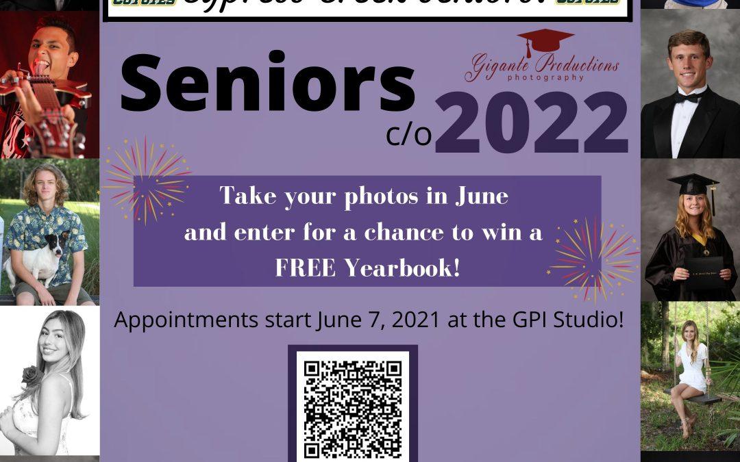 Class of 2022 Senior Pictures