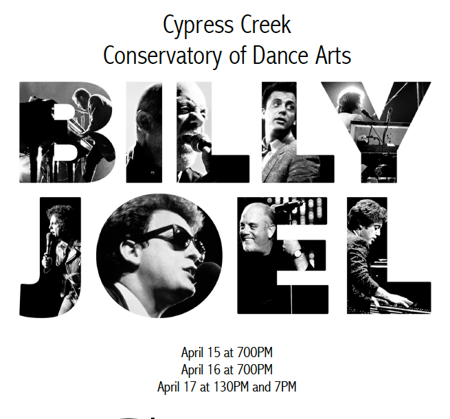 Cypress Creek Conservatory of Dance Showcase: Billy Joel